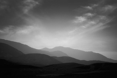 "Layered Landscape - 11"" x 14"" Matted Print"