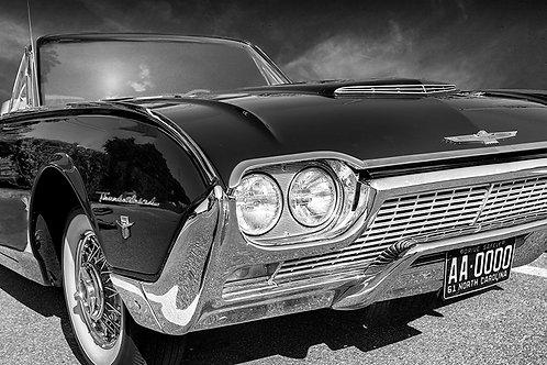 """1961 Thunderbird Convertible - 11 x 14"""" Matte Print"""
