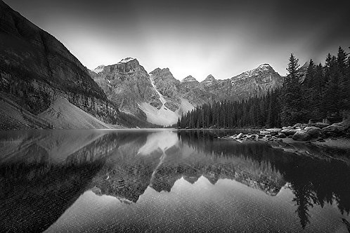 "Moraine Lake - 11x14"" Matted Print"