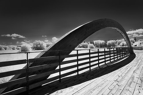 """Curved Space - 11"""" x 14"""" Matted Print"""
