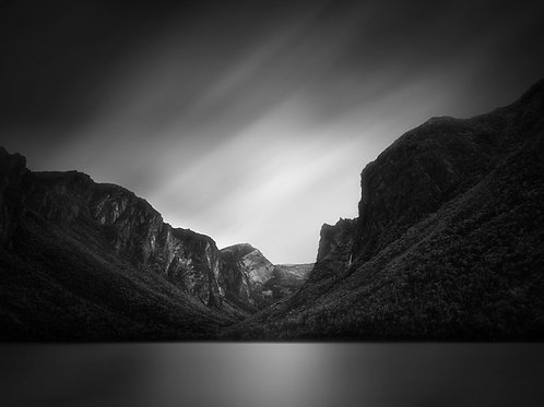 "Western Brook Pond - 11"" x 14"" Matted Print"