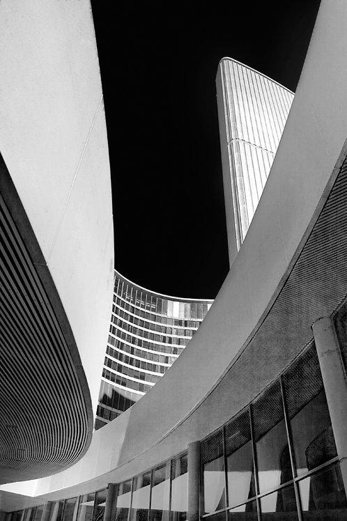"Toronto City Hall - 11"" x 14"" Matted Print"