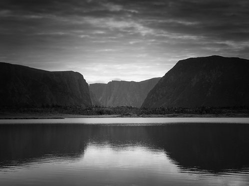 "Gros Morne - 11"" x 14"" Matted Print"