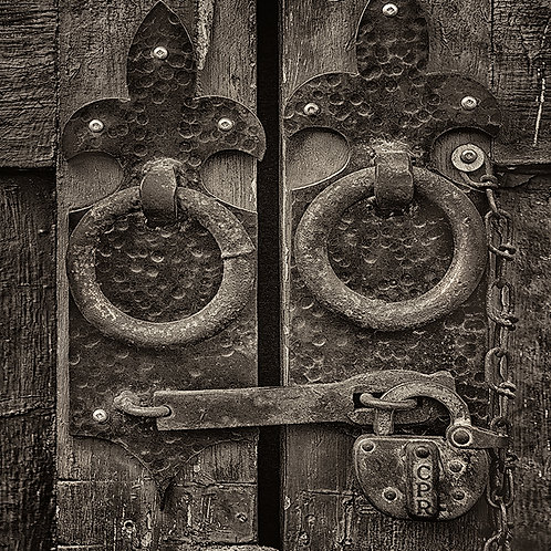 """Knock, Knock - 11"""" x 14"""" Matted Print"""