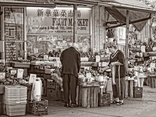 "Kensington Market - 11"" x 14"" Matted Print"