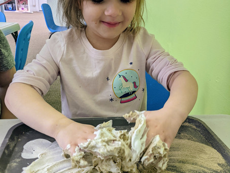 Foam Sand -- STEAM & Sensory