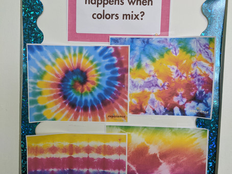 Color Mixing & Kids in the Kitchen
