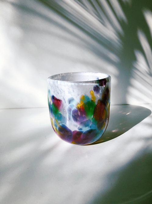 Handblown Glass Cup