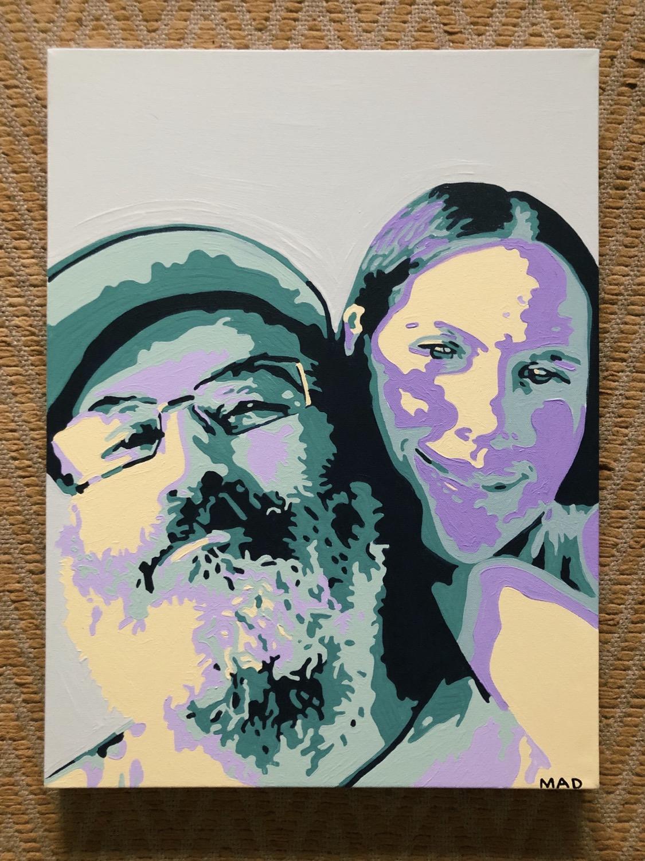 "Thumbnail: Custom Portrait 18"" x 24"""