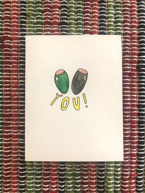 """Olive"" You Card"