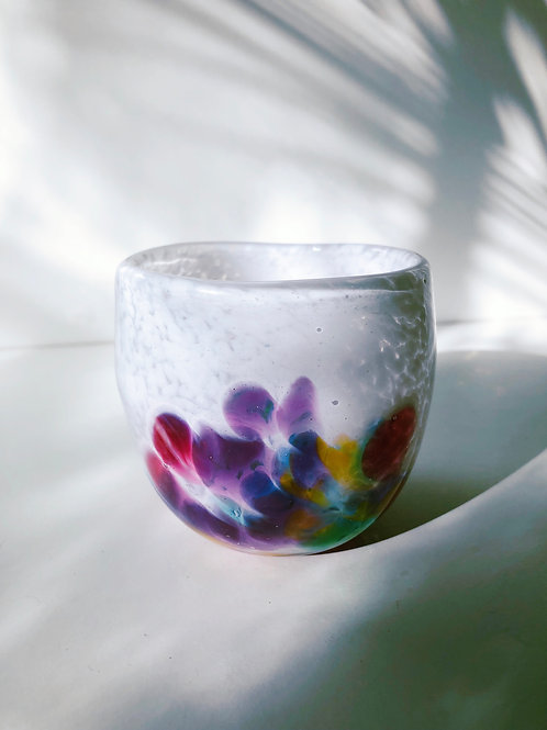 Handblown Glass Cup