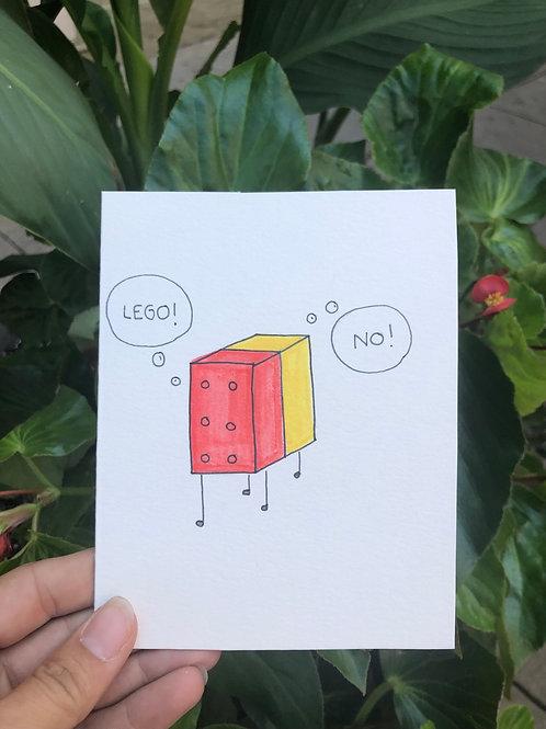 Lego....No Card