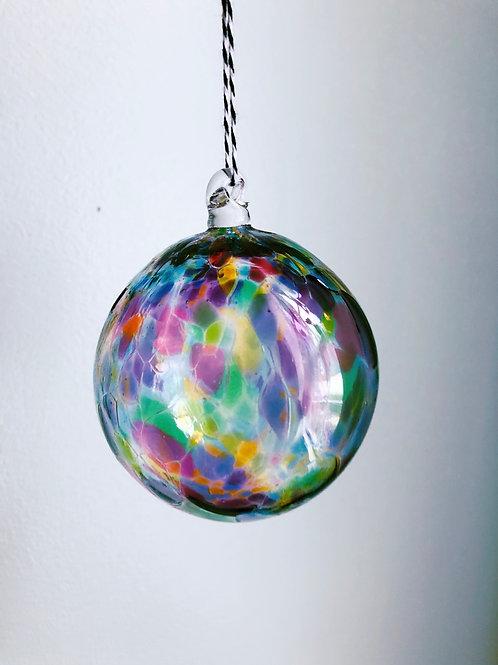 Handblown Glass Ornament/ multi