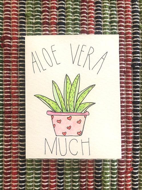 Aloe You Vera Much Card