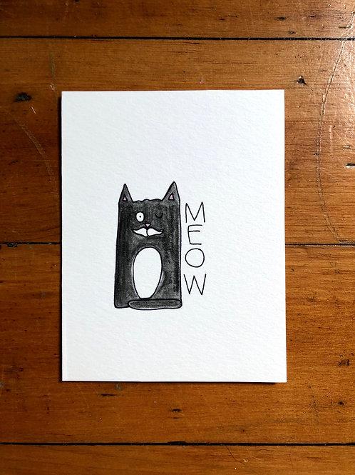 Meow Card