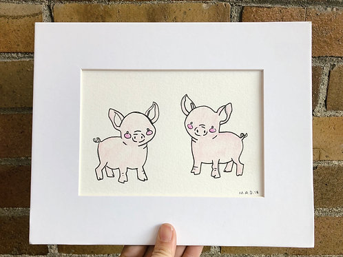 Oink Oink Drawing