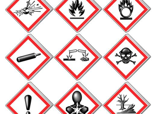 Hazard Labels, regulations & custom label printing