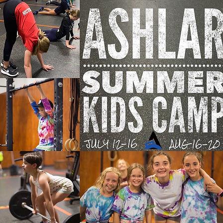 CrossFit Ashlar kid/youth camp