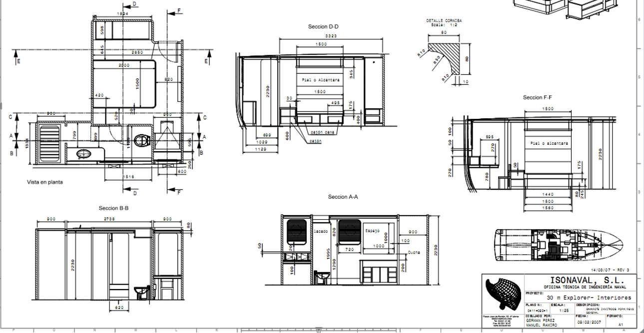 isonaval interiors plans
