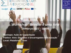 Workshop: Brincar é uma Arte