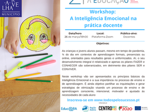 Workshop: A inteligência Emocional na prática docente