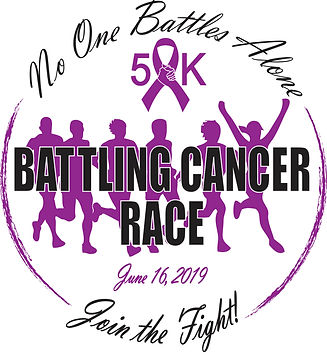 Battling Cancer Race T-shirt design 2019