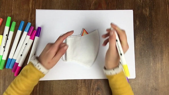 'Design Your Own Cat/Dog' Children's Face Mask