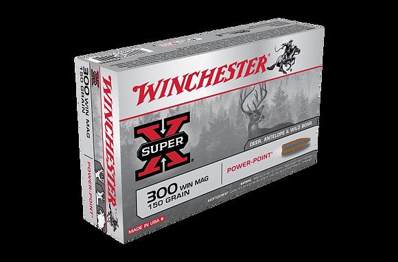 WINCHESTER SUPER X 300WM 150GR SP