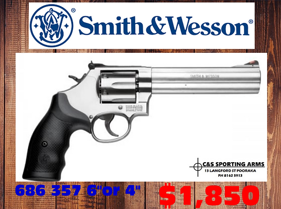 """Smith & wesson 686 357 4""""or 6"""""""
