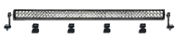 """LED light bar 40"""" dual row"""
