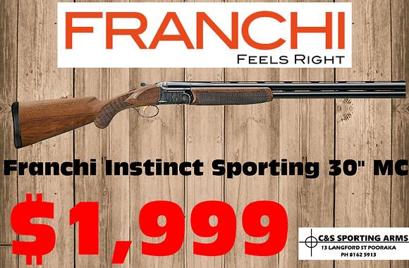 "Franchi Instinct Sporting 30"" MC"