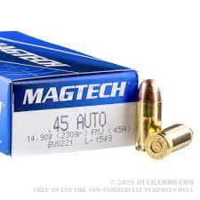 MAGTECH 45ACP 230GR FMJ