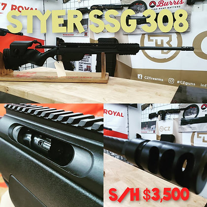 STYER SSG 308 EXCELLENT CONDITION  RRP $5,300