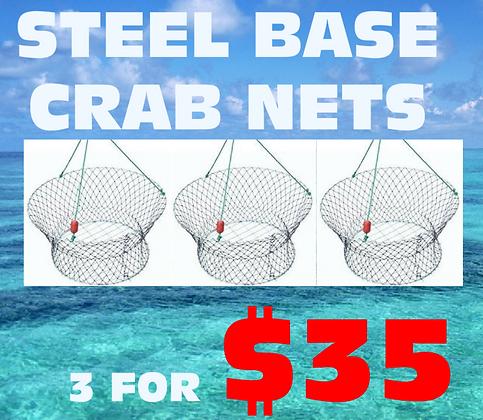 Steel Base crab Nets