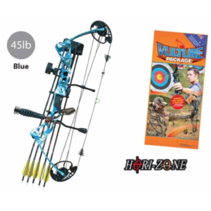 Hori-zone bow fishing package 45lb (blue)