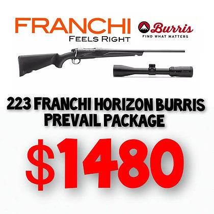 Franchi Burris 223 Package
