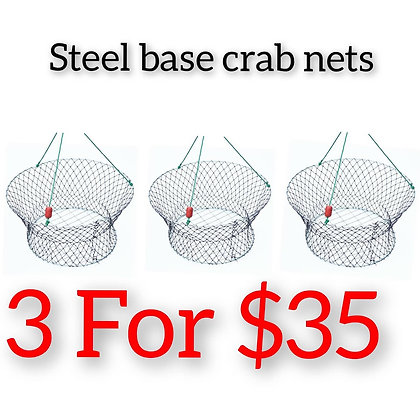 Steel Base crab Nets