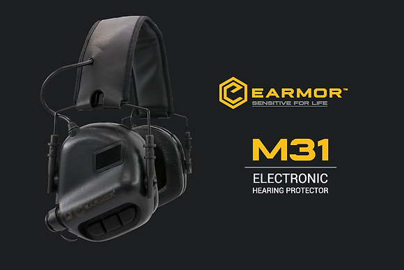 EARMOR M31ELECTRONIC EAR MUFFS