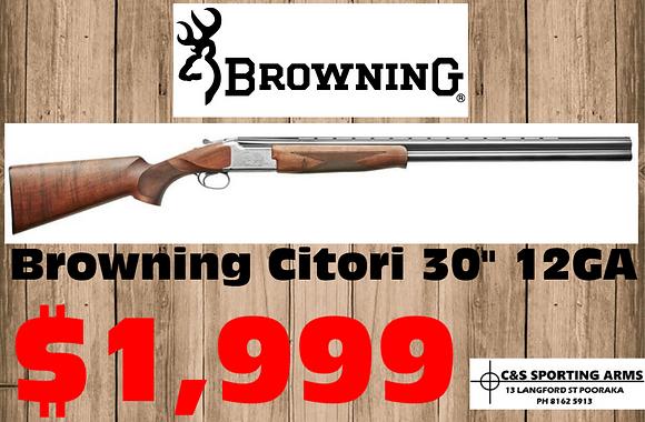 Browning Citori Over & Under Shotgun 12G