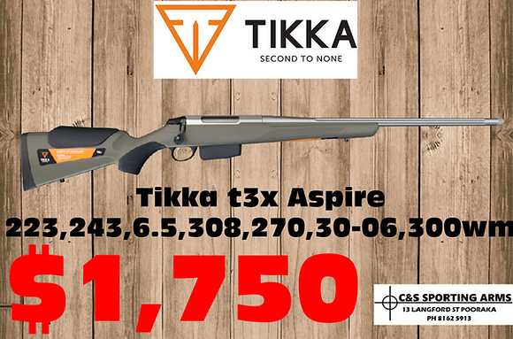 Tikka T3X Aspire