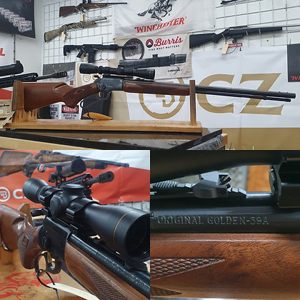 MARLIN 39A GOLDEN LEUPOLD VX1 2-7X33