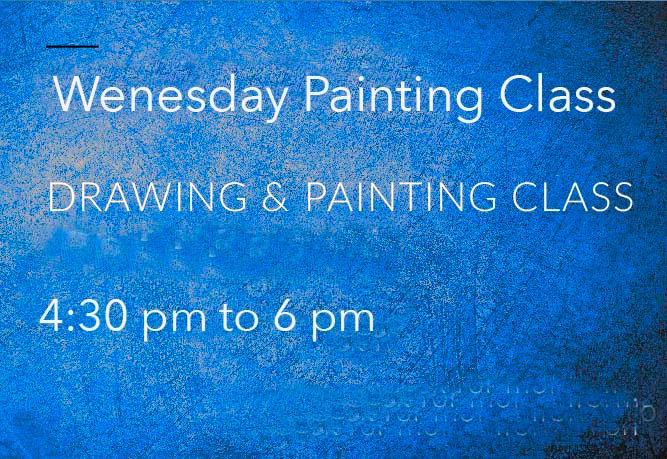 Wednesday painting Class