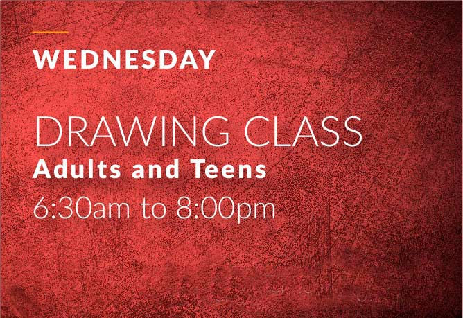 wends drawing class