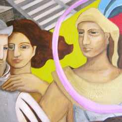 Detail for Mural for Mexican consulate