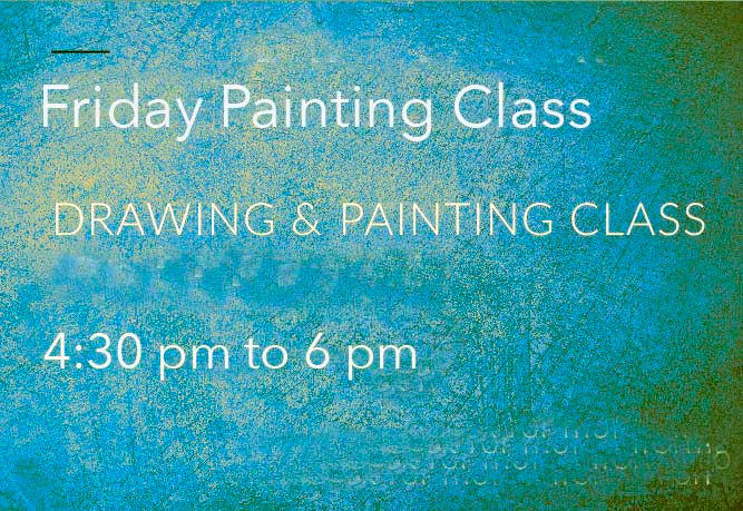 Friday painting class