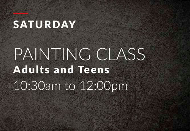 Saturday Adults painting class