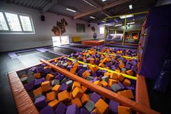 Trampolin Jump Arena Trampolinbereich 1.
