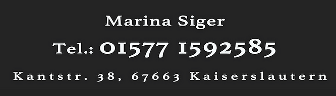 Kosmetikstudio Kaiserslautern Marina Siger
