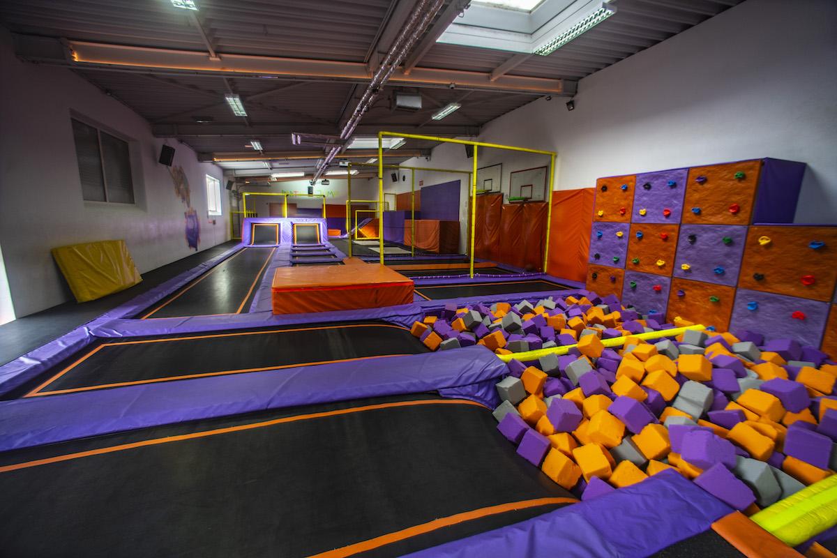 Trampolin Jump Arena Sprungbereich 2 Kop