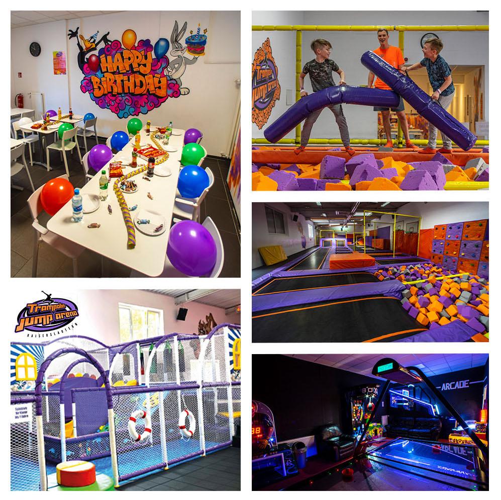 Trampolin Jump Arena Geburtstag Birthday